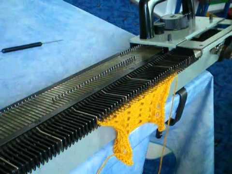 вязание на машине модели и схемы