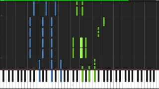 Sail - AWOLNATION [Piano Tutorial] Ноты и М�Д� (MIDI) можем выслать Вам (Sheet music for piano)