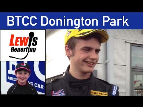Aiden Moffatt - Laser Tools Racing - Race 3 BTCC Donington 2015