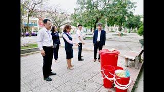 TP Uông Bí: Làm tốt công tác đón học sinh THPT đi học trở lại