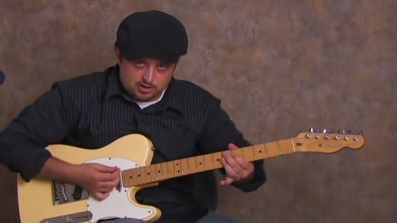 Mustang Sally – Inspired  Blues Rhythm Guitar Tutorial – (Older Beginners Welcome)
