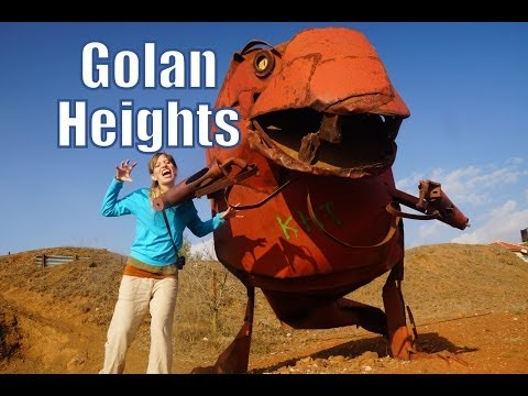 Visiting the Golan Heights in Israel