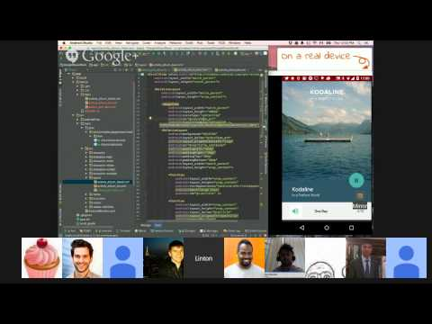 Live-Coding Android UI: Layouts and Animations w/Linton Ye of Mirror for Android Studio