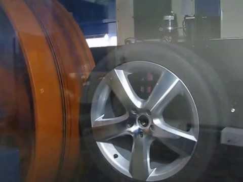 Испытание при качении (Rolling test) колёсных дисков WSP Italy W451 DHAKA