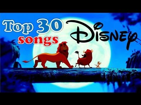 top 30 Disney songs