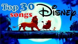 Video top 30 Disney songs MP3, 3GP, MP4, WEBM, AVI, FLV Juni 2018
