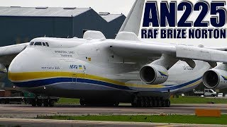 Video Incredible World's Biggest Plane (Antonov 225) Powerful Takeoff | RAF Brize Norton, UK (With ATC) MP3, 3GP, MP4, WEBM, AVI, FLV Juni 2019