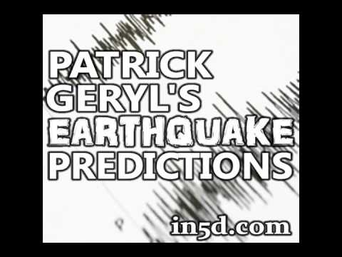 10+ Earthquake Prediction Dec 21 : Patrick Geryl's Amazingly Accurate Earthquake Predictions