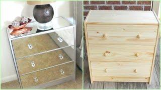 DIY | Mirrored Nightstands (IKEA HACK!!!)