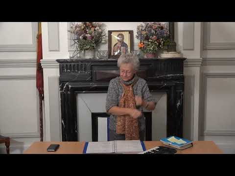 CDS Paris, 3 octobre 2019: Hélène Sejournet - Mémorisation de l'évangile