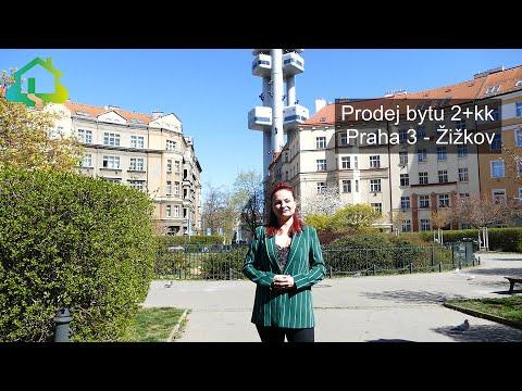 Video Prodej bytu 2+kk, 52m2, Praha 3 - Žižkov