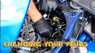 9. Changing Spark Plugs On Your Sport Bike (GSXR)