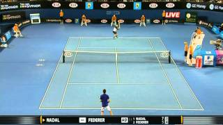 Roger Federer vs Rafael Nadal Australian Open 2009 Final 1080p Highlights