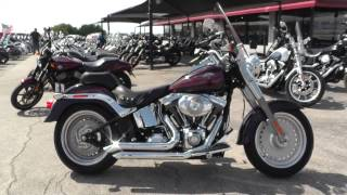 6. 065401 - 2007 Harley Davidson Softail Fat Boy   FLSTF - Used motorcycles for sale