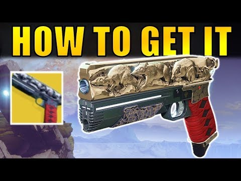 Destiny 2: How to Get the RAT KING Exotic Sidearm!   Complete Quest Guide!