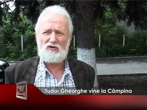 Tudor Gheorghe vine la Câmpina