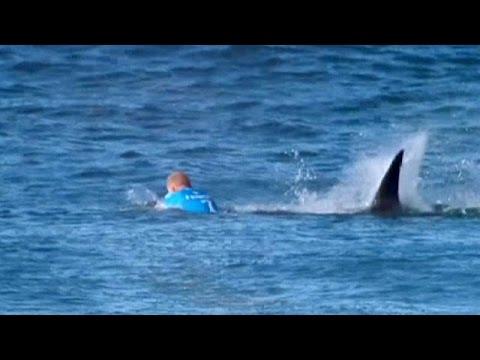 Ν.Αφρική: Από τα σαγόνια του καρχαρία γλίτωσε ο πρωταθλητής του σερφ Μικ Φάνινγκ