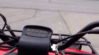 6. 2001 Arctic Cat 250 review. (First Video)