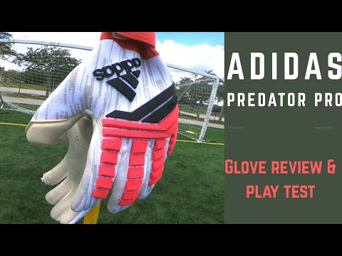 "Goalkeeper Glove Review: Adidas Predator Pro ""Cold Blood"" GK Gloves"