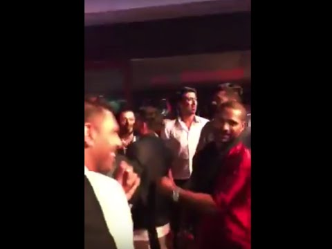 Virat Kohli, Yuvraj Singh And Shikhar Dhawan Dancing At Harbhajan Singh's Reception