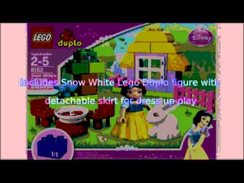Video YouTube video advertisement of the Duplo Disney Princess Snow Whites Cottage