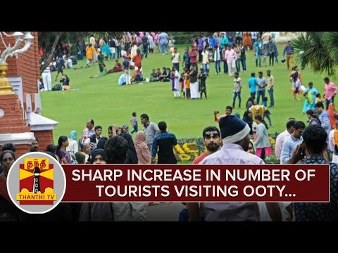 Sharp-increase-in-Number-of-Tourists-visiting-Ooty--Thanthi-TV