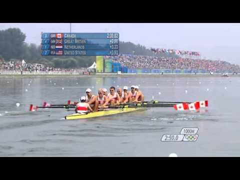 Beijing 2008 Olympic Men's 8+ Final (British BBC Commentary)