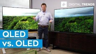 Samsung Q90 4K QLED TV vs. LG C9 OLED TV