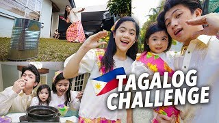 Video SPEAKING TAGALOG VLOG CHALLENGE?!! | Ranz and Niana MP3, 3GP, MP4, WEBM, AVI, FLV Maret 2019