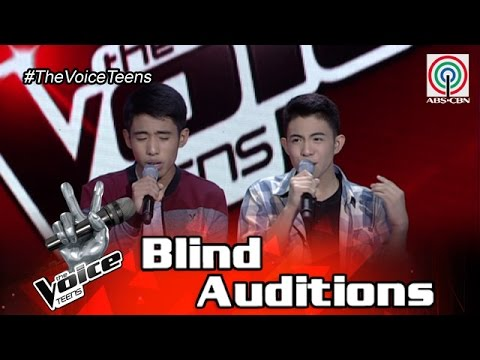 The Voice Teens Philippines Blind Audition: Chan and Christian Millanes - Gayuma