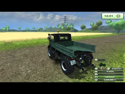Unimog 84 406 series construction v2.1.1 MR Forst