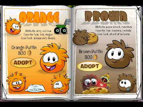 Club Penguin Adopt The Brown Puffle For Non-Members Glitch