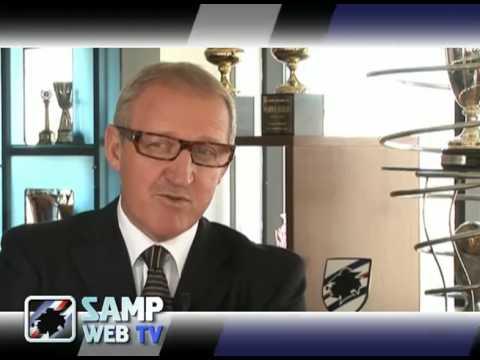 Entrevista a Del Neri como entrenador de la Sampdoria