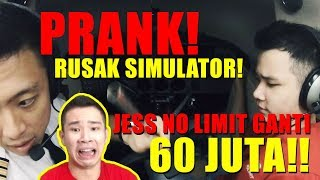 Video PRANK !! JESS NO LIMIT GANTI RUGI 60 JUTA - Obrolan Kokpit CERITA SUKSES Youtuber Gamers DARI 0 MP3, 3GP, MP4, WEBM, AVI, FLV April 2019