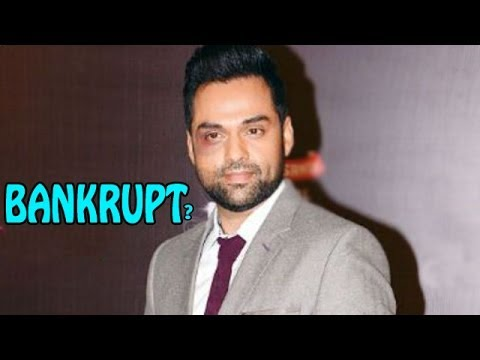 Abhay Deol in FINANCIAL crisis