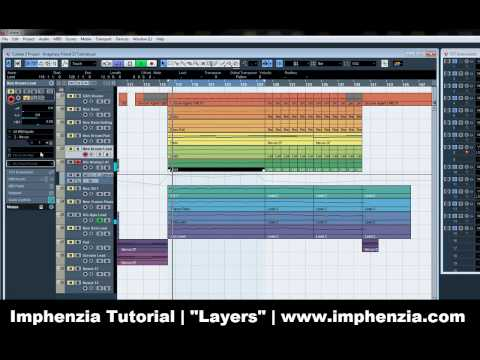 "Trance Tutorial by Imphenzia – ""Layers"" (Cubase 5)"