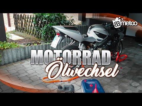 Motorrad Ölwechsel selber machen | Motorrad Öl selber wechseln | Honda CBR 600 F Sport