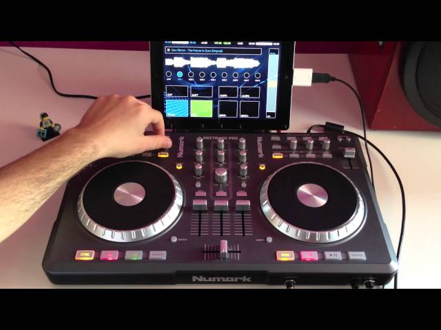 Numark MixTrack Pro official automatic mapping and audio routing for DJ Player