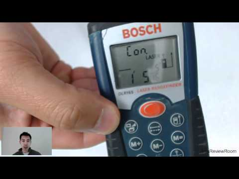 REVIEW: Bosch Laser Distance/Range Measurer