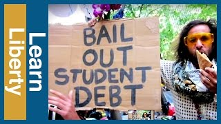 Occupy Wall Street and Student Loans Video Thumbnail