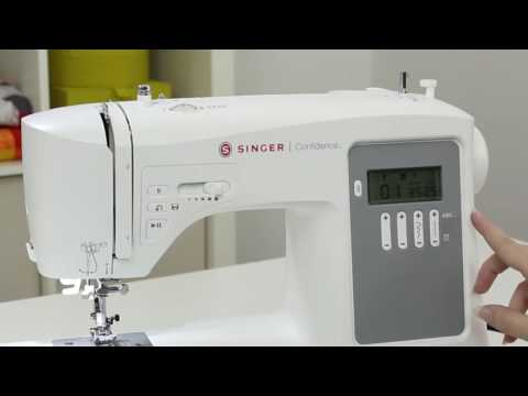 SINGER® CONFIDENCE™ 7640 Sewing Machine - Your Machine