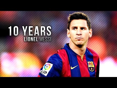 Lionel Messi ● Legend of Barcelona – 10 years | HD