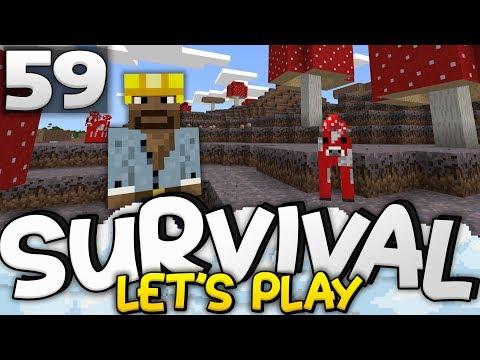 A MASSIVE SURPRISE!!! - Survival Let's Play Ep. 59 - Minecraft Bedrock (PE W10 XB1)