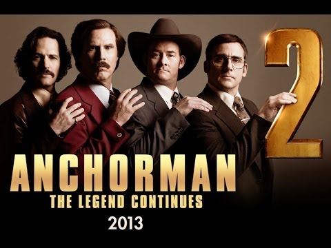 Comedy - ANCHORMAN 2 - TRAILER 2 | Will Ferrell, Steve Carell, Paul Rudd