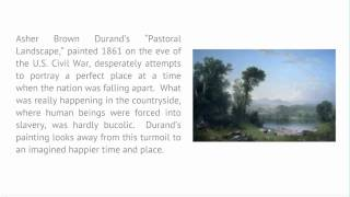 Introduction To Literature And The Environment - Lecture 6: Pastoral