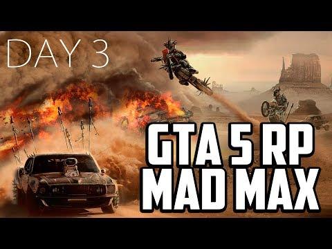 GTA 5 MAD MAX | Бен Анн - Эксперт по взрывчатке ● День 3 [20 февр. 2018]
