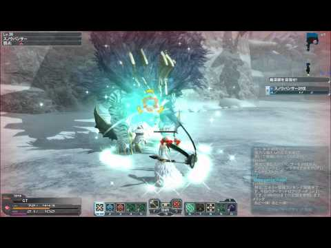 Phantasy Star Online 2 Gameplay 1080p – Force solo VS Snow banshee