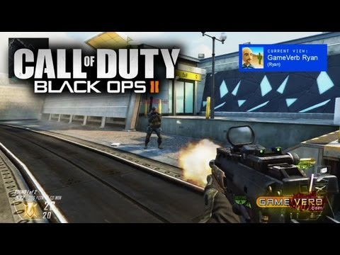 Watch Hunter Killer Online - http://www.GameVerb.com Two viewpoints show COD Black Ops 2 multiplayer gameplay on domination on the express way map! My twin bro and I take on the enemy te...