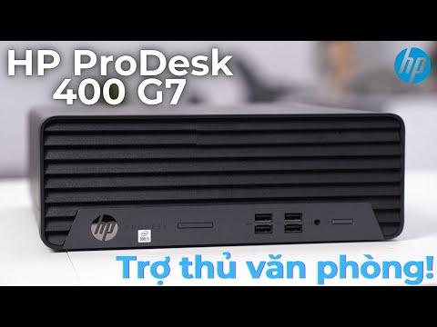 gioi thieu desktop hp prodesk 400 g7 small form factor 22f83pa