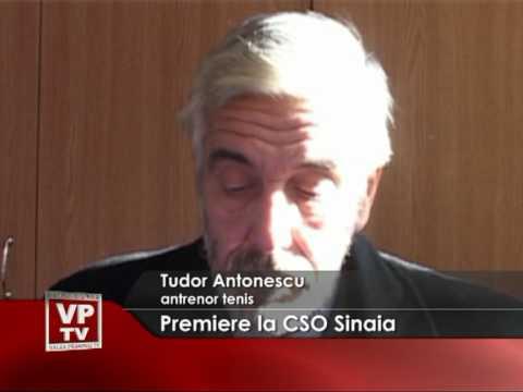 Premiere la CSO Sinaia